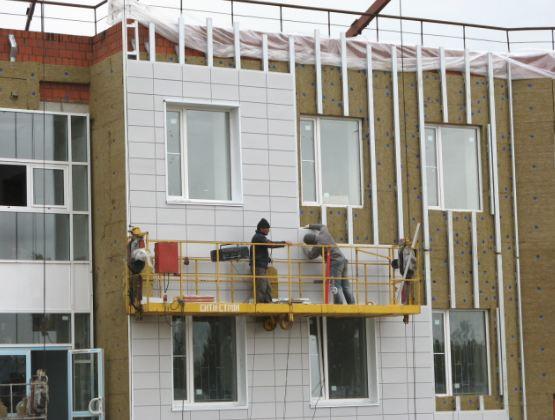 Три «золотых» правила монтажа фасадов